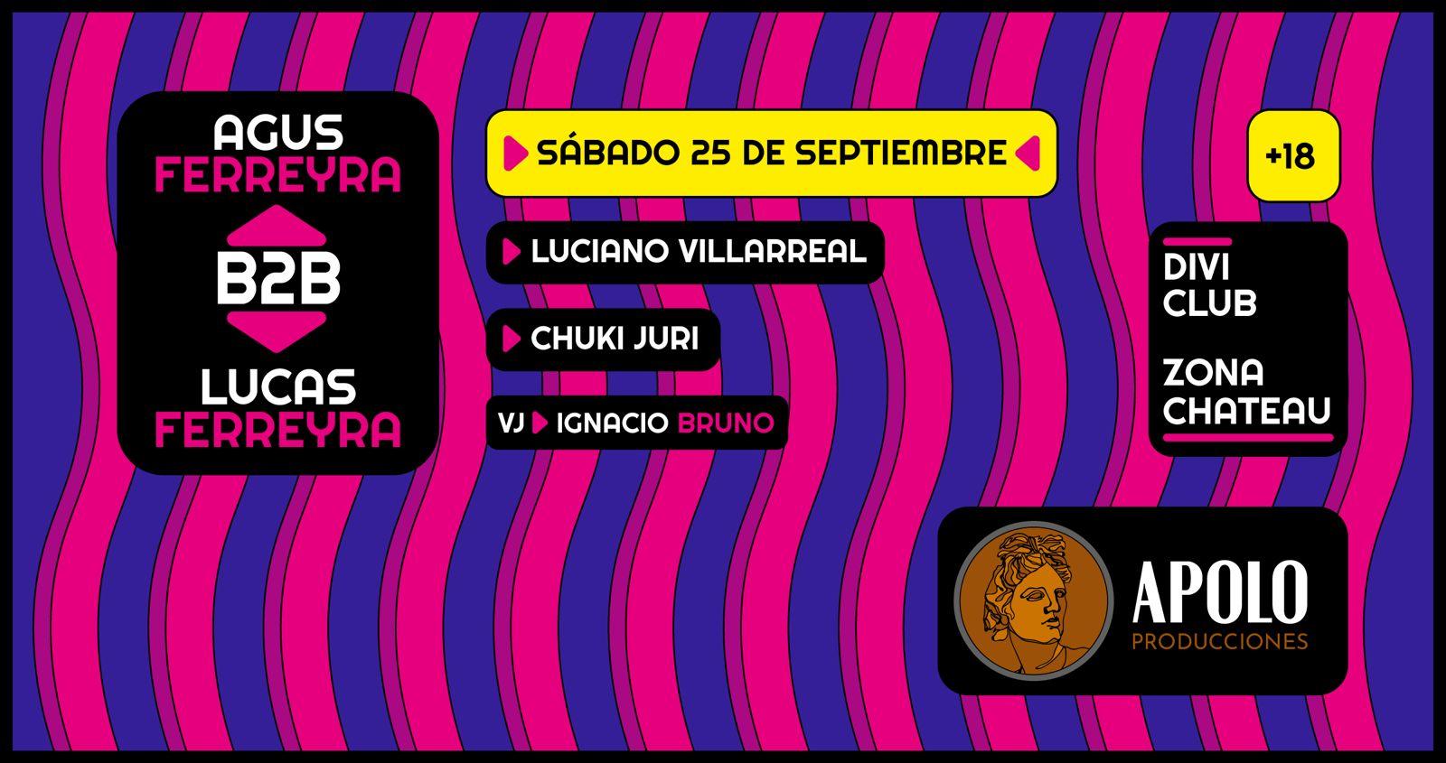 Agus Ferreyra B2B Lucas Ferreyra Divi Club
