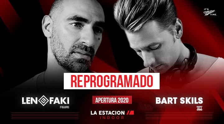 Len Faki   Bart Skils   Apertura La Estacion Indoor
