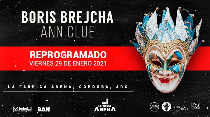BORIS BREJCHA | Ann Clue en Arena La Fábrica