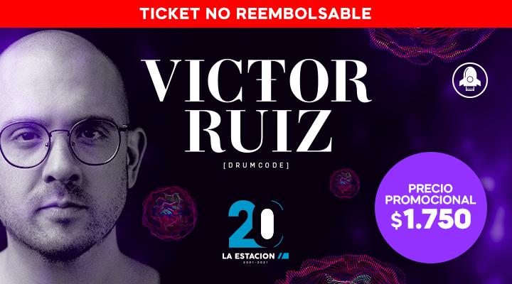 Victor Ruiz en La Estación
