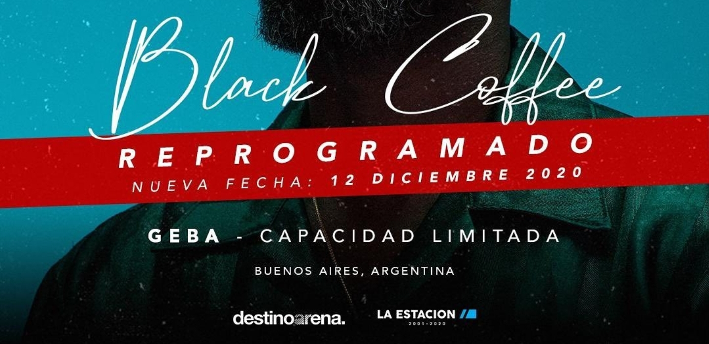 Black Coffee en GEBA (Bs.As.)
